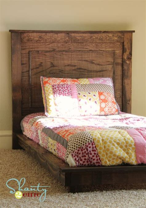 Liebenswerte Plattform Bett Mit Kopfteil Plattformbett