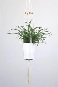 Suspension Macramé Ikea : suspension pour plante en macram bymadjo ellyne d co ~ Zukunftsfamilie.com Idées de Décoration