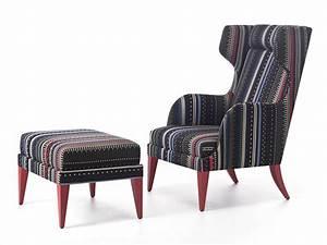 Fauteuil Bergère À Oreilles : onda fauteuil berg re by very wood design werther toffoloni ~ Nature-et-papiers.com Idées de Décoration
