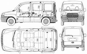 auto fiat doblo bild bild zeigt abbildung zeichnungen With citroen jumper 9 seater