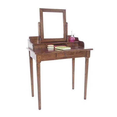 bureau princesse coiffeuse avec miroir en bois personnalisable princesse