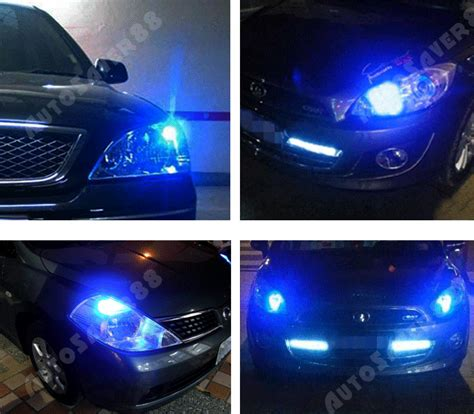 blue lights for cars 2 pcs 4114 4157na ultra blue 3157 68 smd car drl daytime