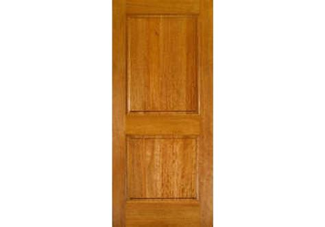 "80"" Mahogany 2-panel Square Top Interior Door"
