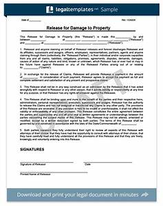 release of liability create a free liability waiver form With property damage waiver template