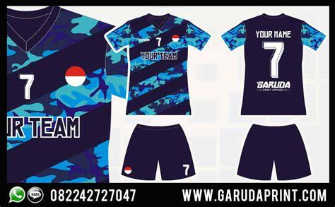 desain baju bola futsal terbaru garuda print garuda print