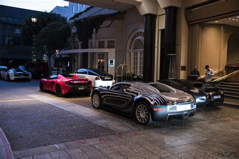 Middle Eastern Bugatti Veyrons Flock To Los Angeles
