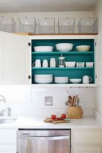 nesting colored kitchen cabinets a beautiful mess With kitchen colors with white cabinets with sticker paper for printer