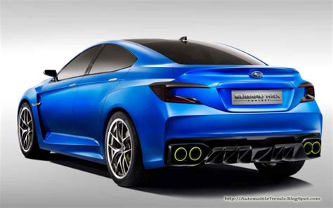 Automobile Trendz 2018 Subaru Impreza Wrx Concept 6