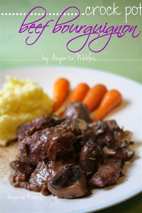 anyonita nibbles gluten free recipes gluten free crock pot beef bourguignon recipe with step