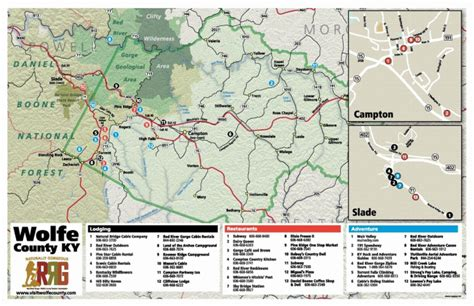 maps red river gorge guide
