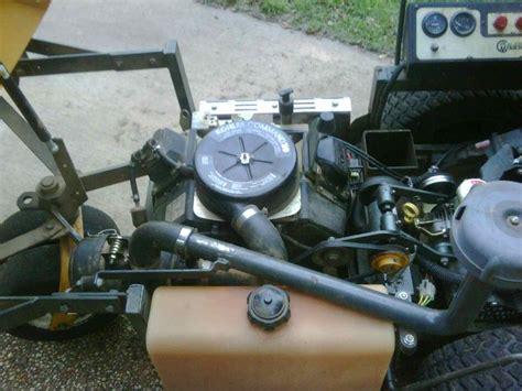 walker mower mt hp lawnsite attachments pickup mow
