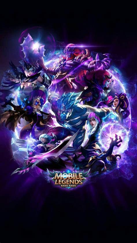 mobile legend bang bang wallpaper hd blue team mobile