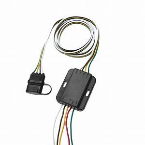 12v 4 Pin Us Trailer Hitch Wiring Cable Tow Harness Power