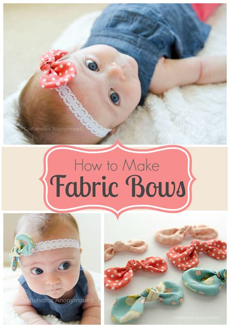 how to make baby hair 40 diy bow crafts to make at home