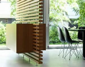 Raumteiler Aus Holz : 67 tolle designs vom raumtrenner aus holz ~ Indierocktalk.com Haus und Dekorationen