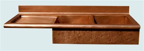 copper sinks with drainboards handmade copper sink with drainboard splash by