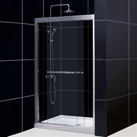 dreamline shower door dreamline shdr 12 duet bypass sliding shower door atg stores