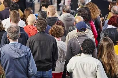 Population Listening Background Crowded Street Growth Crowd