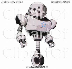 Bot Containing Round Head And Heavy Upper Chest And Circle