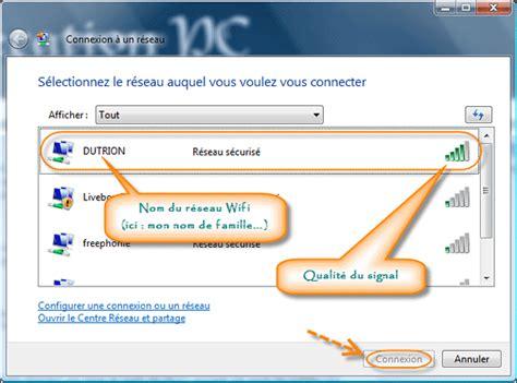 comment connecter un ordinateur de bureau en wifi comment se connecter à un réseau sans fil avec vista