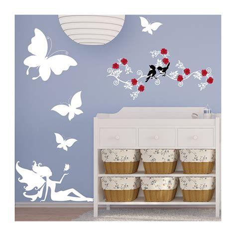 déco chambre bébé stickers stickers chambre bébé fée et papillons une décoration unique