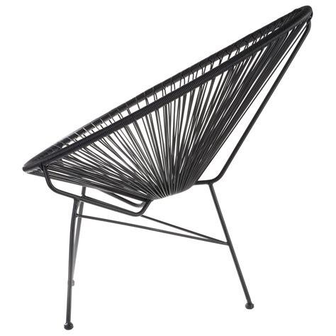 fauteuil acapulco noire la chaise longue