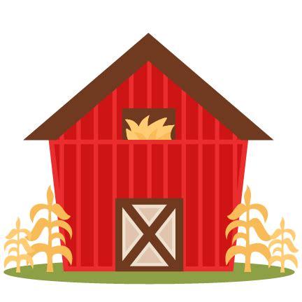 Barn Clipart by Farm Barn Svg Scrapbook Cut File Clipart Files For