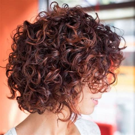 65 Different Versions of Curly Bob Hairstyle Cheveux