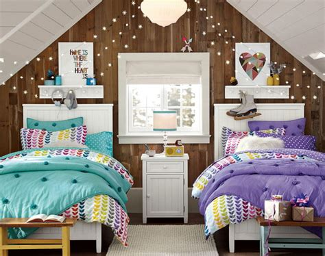 cute  interestingtwin bedroom ideas  girls hative