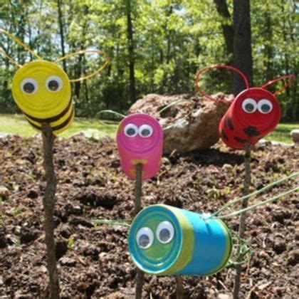 Recycled Garden Crafts