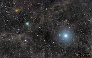 Astronomy Picture of the Day -- Polaris and Comet Lovejoy