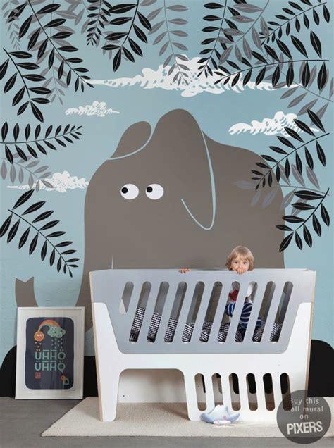 décoration pour chambre de bébé déco chambre bébé papier peint enfant