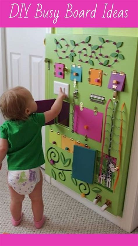 sensory board ideas  toddlers easy diy activity