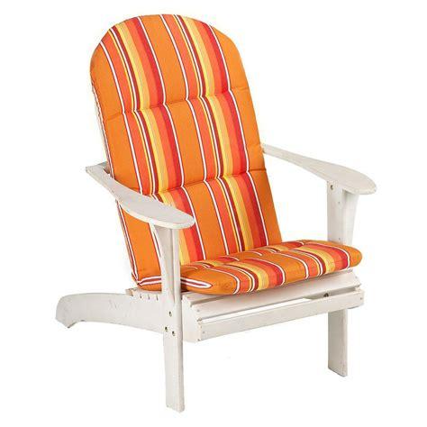 sunbrella adirondack chair cushions sunbrella dolce mango outdoor adirondack chair cushion