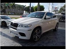 Export Used 2014 BMW X6 M WHITE ON RED