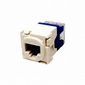 Clipsal Actassi Socket Rj45 Cat 6 Mech