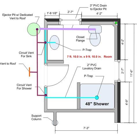 basement bathroom floor plans basement bathrooms plumbing dining rooms green walls 2015