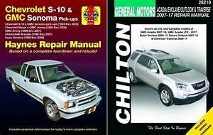 Haynes  Chilton Update Repair Manuals For The Chevy S10