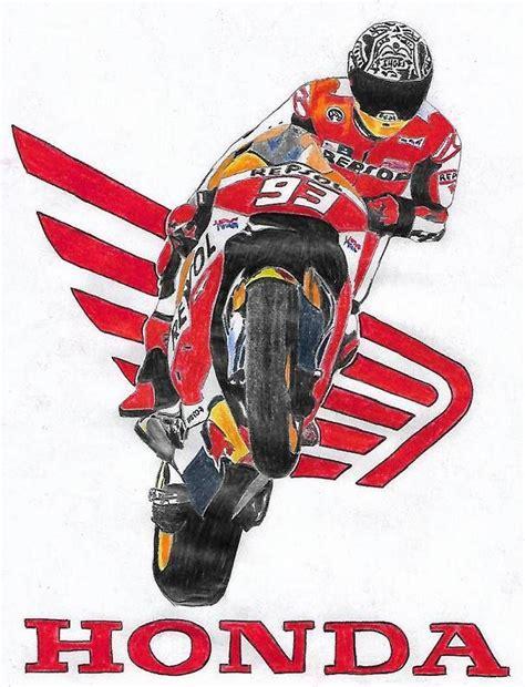 moto gp marc marquez dessin mes dessin en  dessin