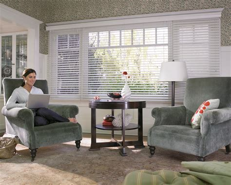 Blinds For Wide Windows by Wood Blinds Window Coverings Window Treatments