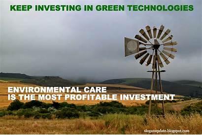 Environment Slogan Slogans Energy Technology