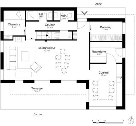 plan maison 7 chambres plan maison à étage avec 5 chambres ooreka