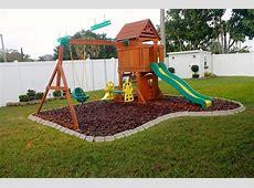 Playground Edging Backyard ideas Pinterest