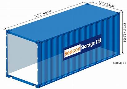 Storage 20ft Container Sizes Containers Dimensions Shipping