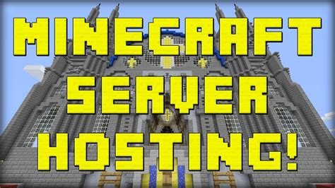 minecraft server hosting  dedicatedvoice servers