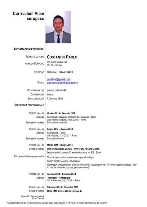 Resume Or Vitae by Curriculum Vitae