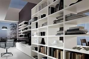 Meuble Bureau Design : living rangement ~ Melissatoandfro.com Idées de Décoration