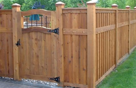 fences for yards backyard fence pictures and ideas