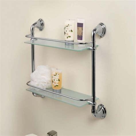 Glass Wall Shelves For Bathroom by 56 Bathroom Shelves Unit Corner Bathroom Shelves Unit