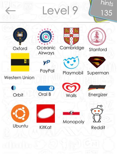 logo quiz answers level    iphone ipad  android